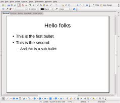 How to make OpenDocument slideshows out of plain text files /img/ODP_template.png