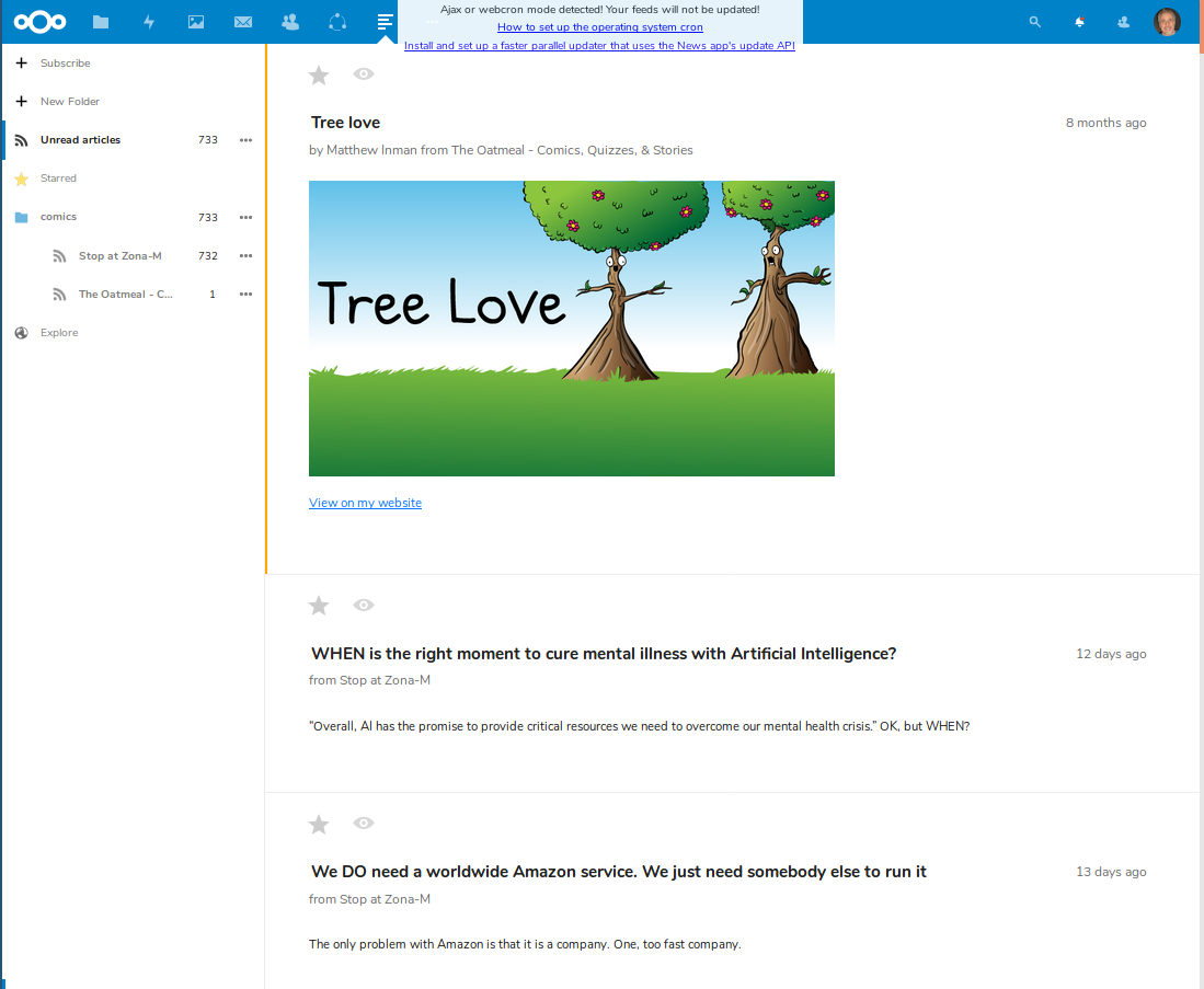NextCloud 16 review /img/figure-05-nextcloud-newsreader.png